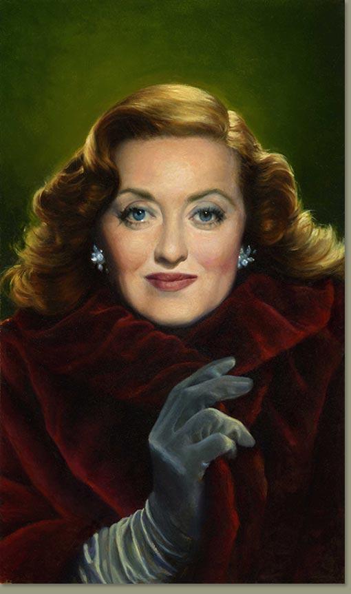 Bette Davis By Michael J Deas