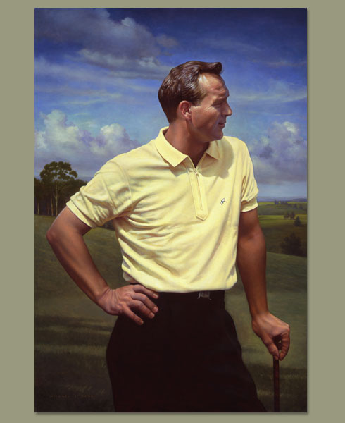 Arnold Palmer By Michael J Deas